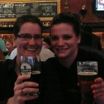 Me & Jacklyn at the Flying Saucer