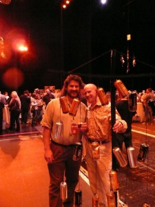 Paul Gatza (BA, left) and Larry at CANFEST in Reno this year
