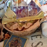 Lovely Dogfish Head brewing glasses + coasters