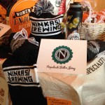 Great gifts, like these from Ninkasi Brewing, graced the project this year