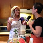 Molly, KTVL & Ginger on air talking up Beer Smoothies