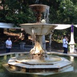 Beer fountains - not a good idea....