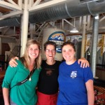 Cheers to smart women who are helping create progress - Ginger (c) with Krissy (l) and Rocky (r) of Snake River Brewing, Jackson WY - where they recently hosted a women + beer event