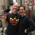 Julian, the neology savvy brewer, Beachwood Brewery & BBQ