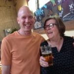 Brewer Larry & friend Sandi at the Off Flavor Class.